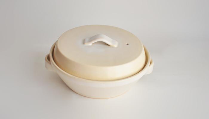 フエゴ 土鍋 白 02