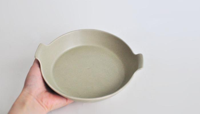 ラディッシュ オーブン皿 緑 02