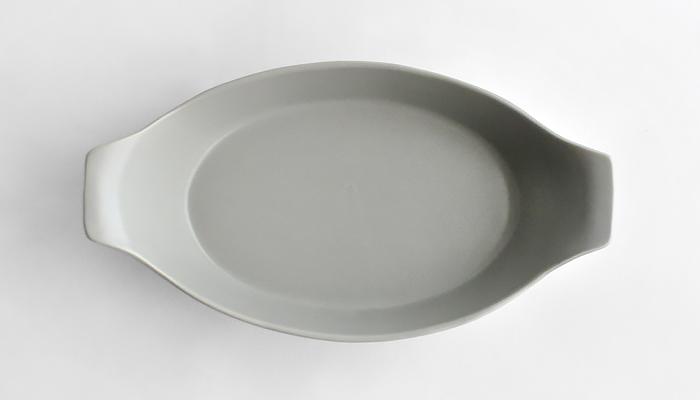 ラデッィシュ オーバルオーブン皿 水色 02