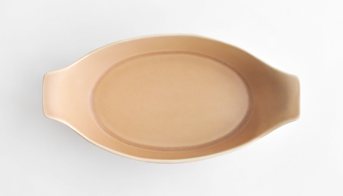 ラデッィシュ オーブン皿 茶 02