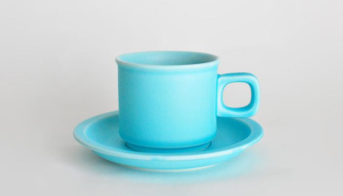 スティルク ティーカップ&ソーサー 水色