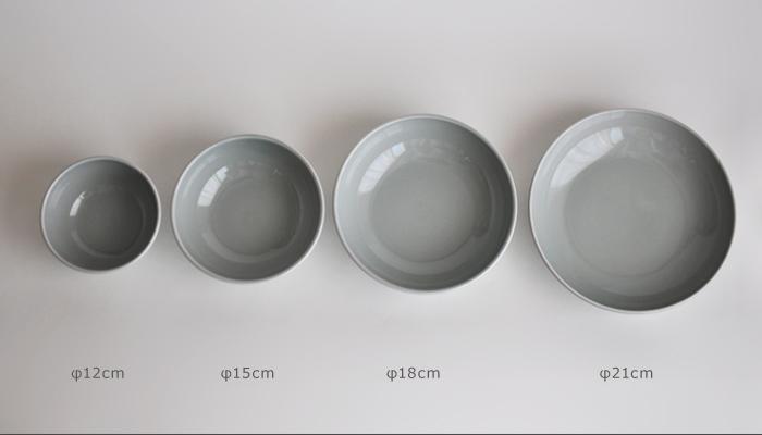 Common・コモン ボウル21cm グレー06