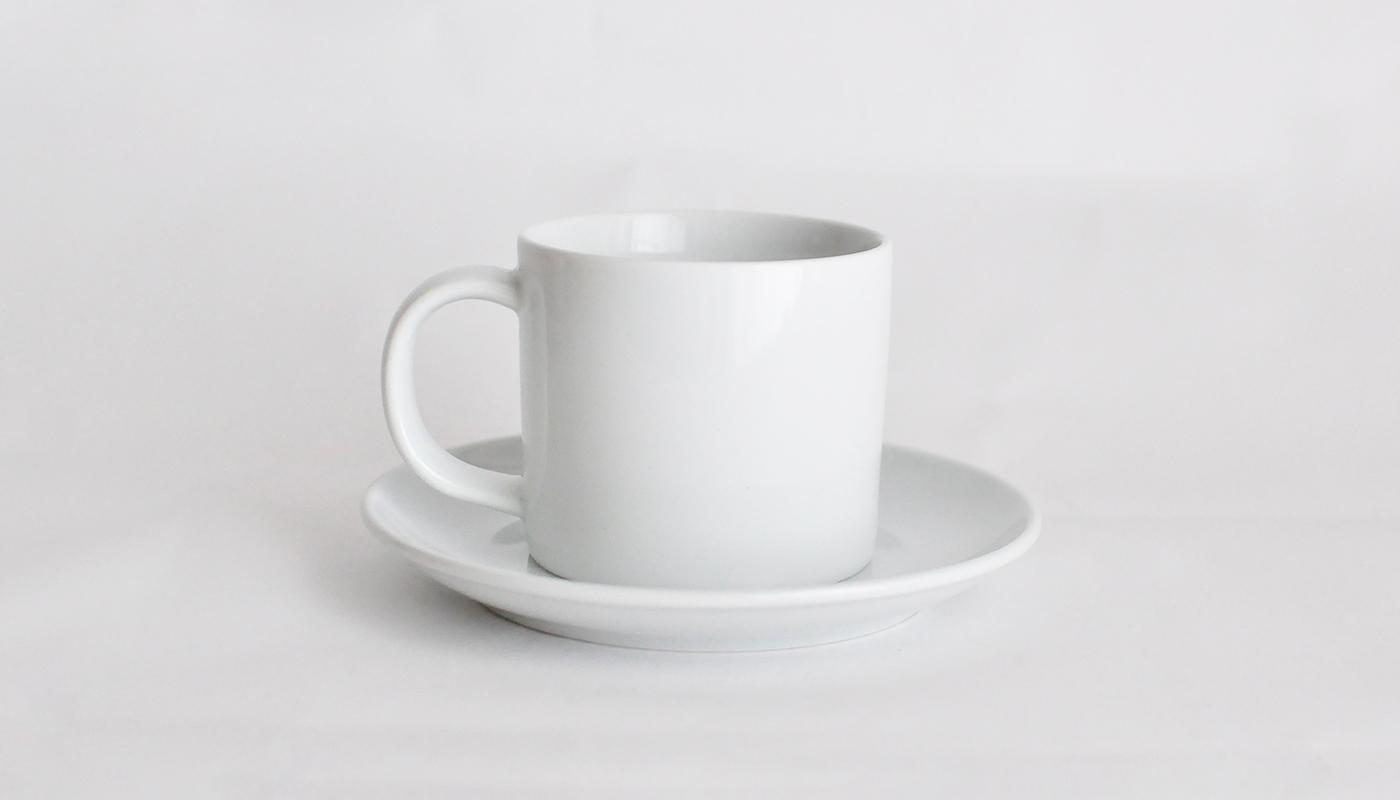 Common カップ&ソーサー ホワイト