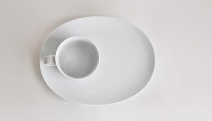 Common コモン オーバルプレート ホワイト03