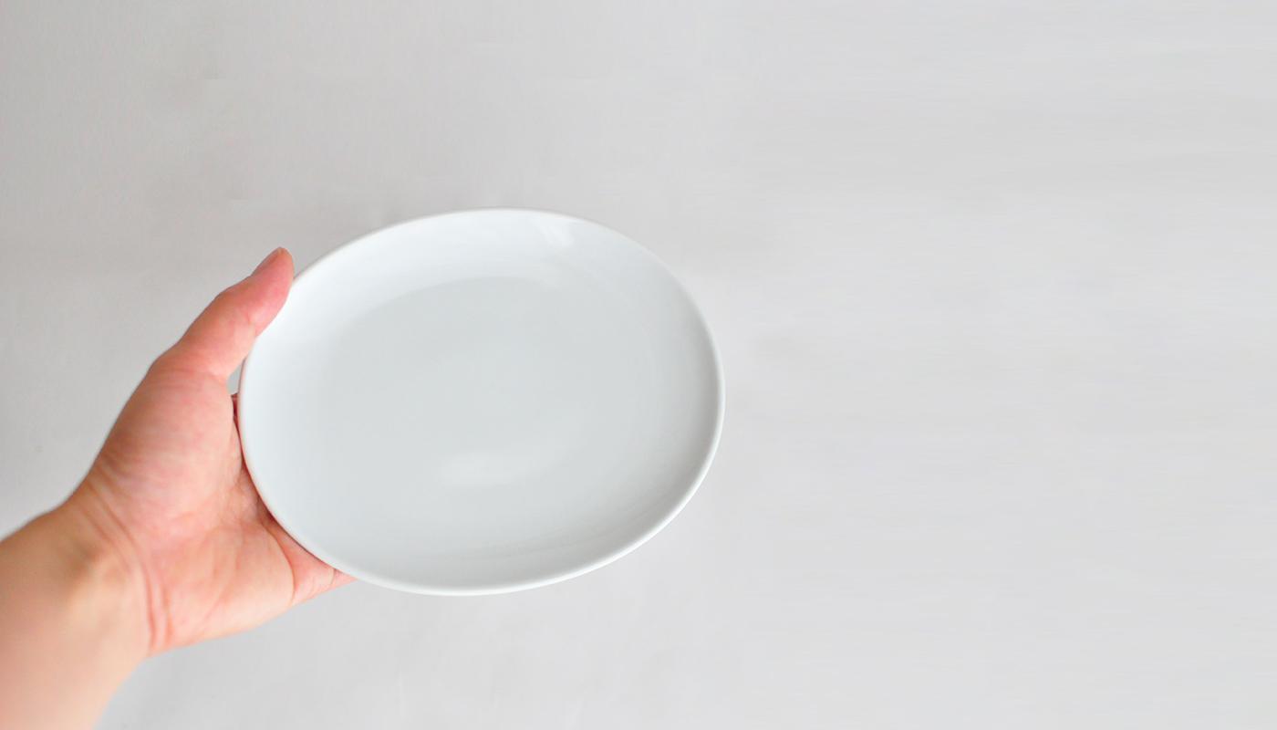 Common コモン オーバルプレート15cm ホワイト04