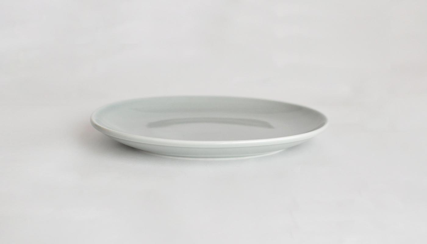 Common コモン オーバルプレート19cm グレー02