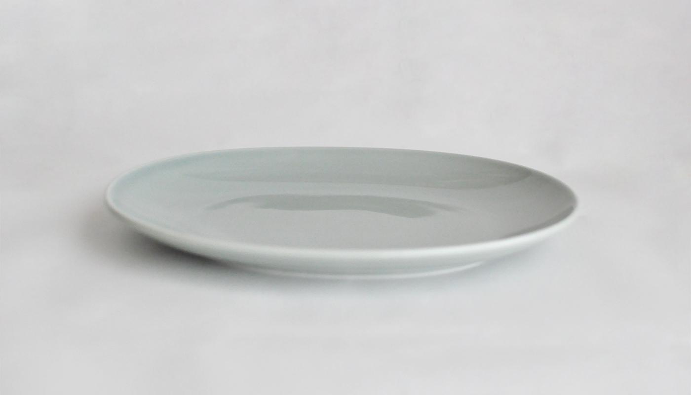 Common コモン オーバルプレート22cm  グレー02