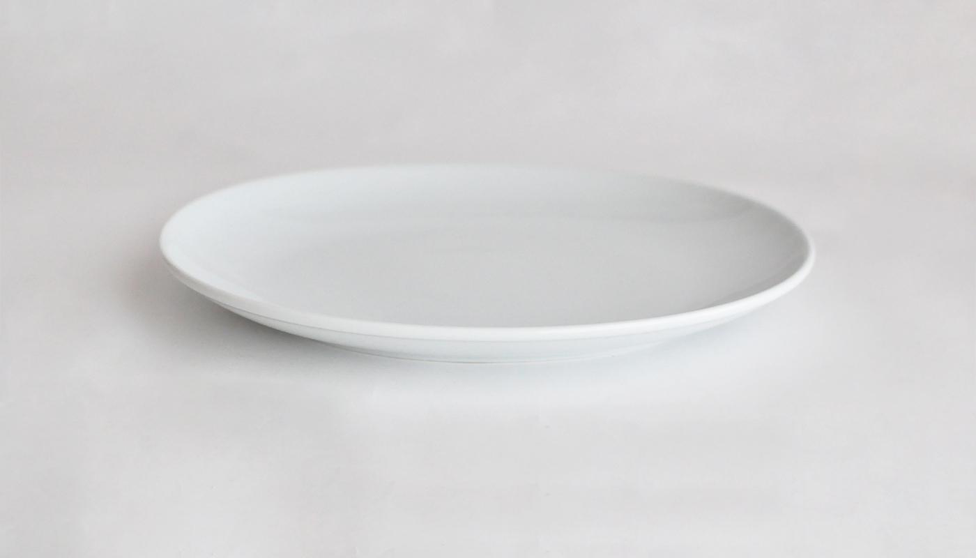 Common コモン オーバルプレート22cm  ホワイト02