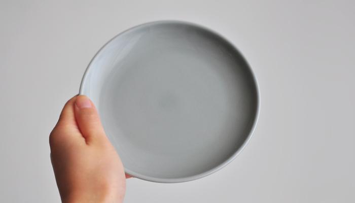 Common・コモン プレート15cm グレー4