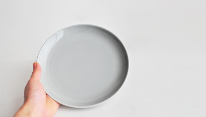 Common・コモン プレート18cm グレー3
