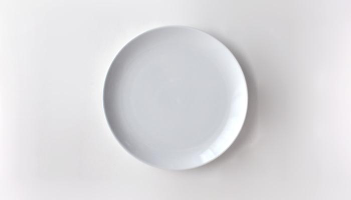 Commonプレート 18cm ホワイト