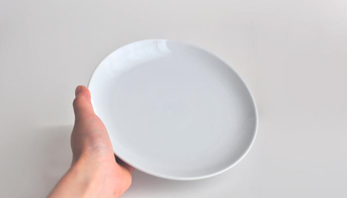 Common・コモン プレート18cm ホワイト2