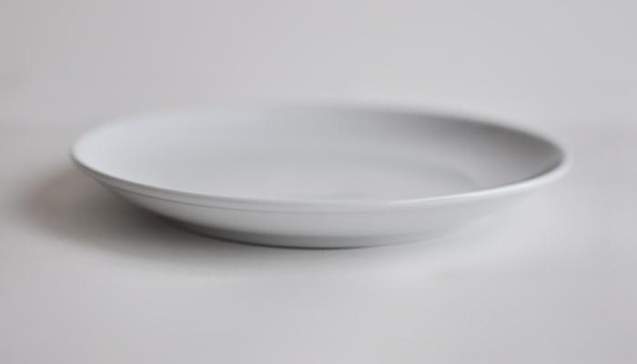 Common・コモン プレート210mm ホワイト2