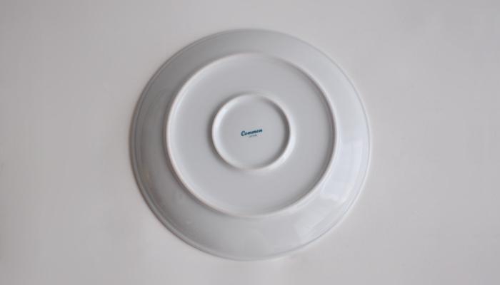 Common・コモン プレート210mm ホワイト4