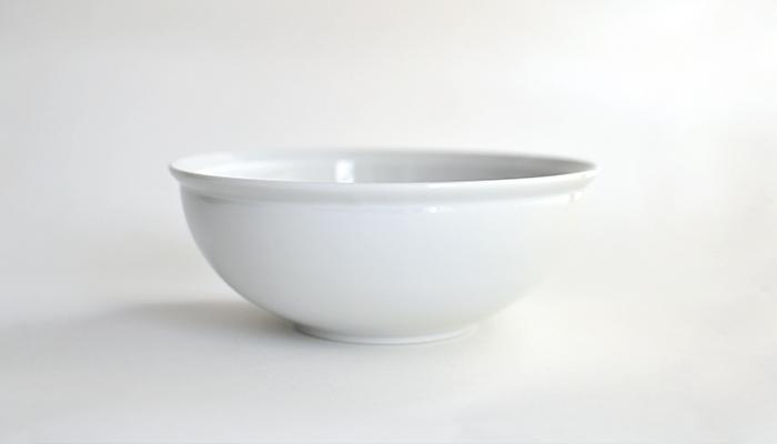 ボウル 18cm ホワイト
