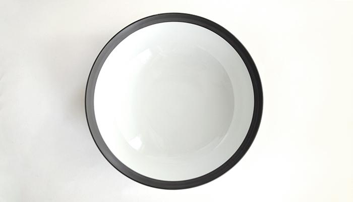 ボウル 22cm ブラック