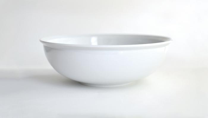 ボウル 22cm ホワイト