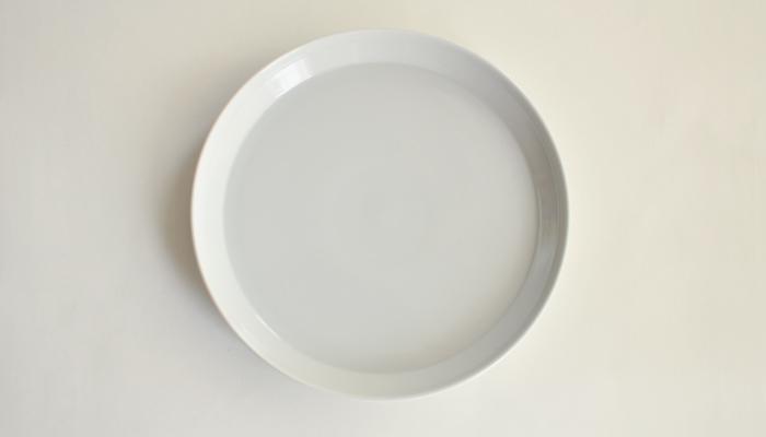 プレート 20.5cm ホワイト | RIM by KINTO