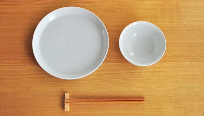rim plate 20.5cm white05