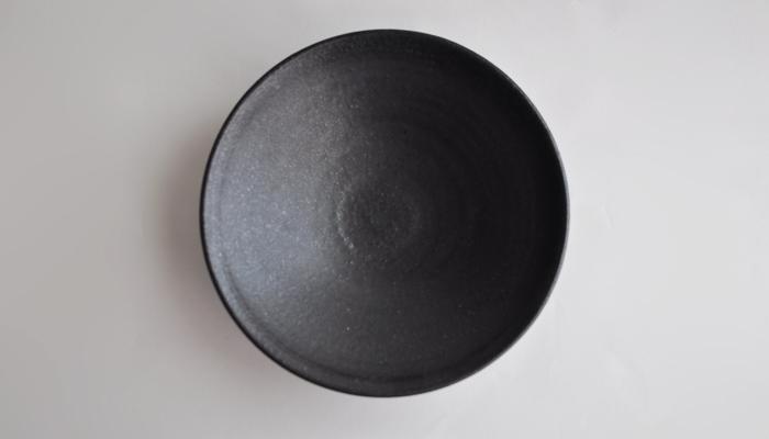 中村恵子の7寸鉢 黒02