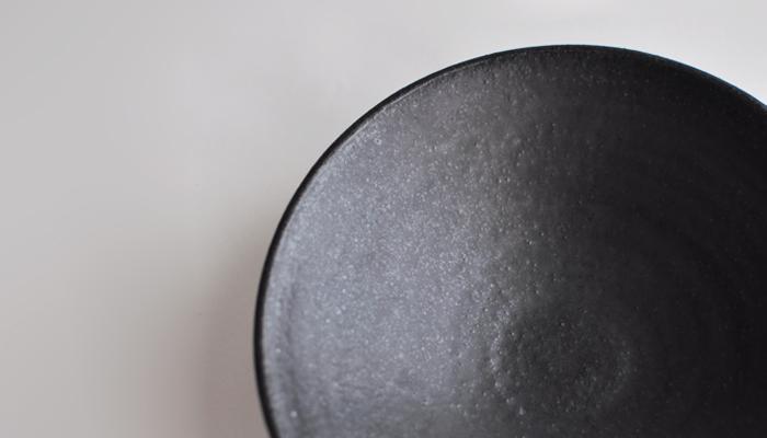 中村恵子の7寸鉢 黒03