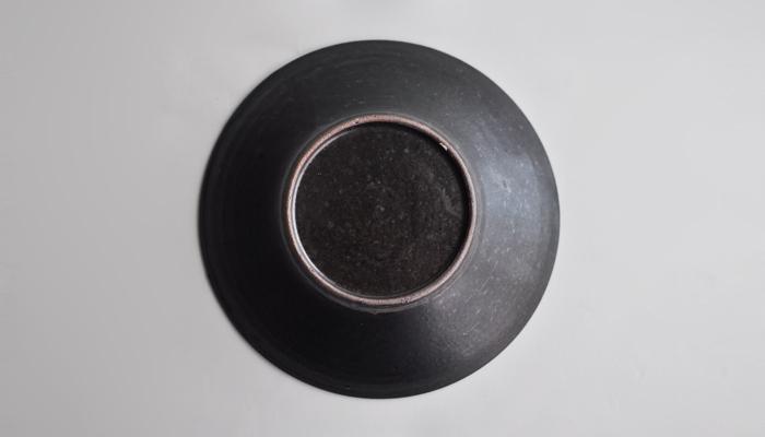 中村恵子の7寸鉢 黒06
