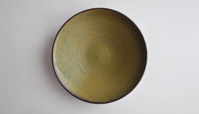 中村恵子の7寸鉢 緑02