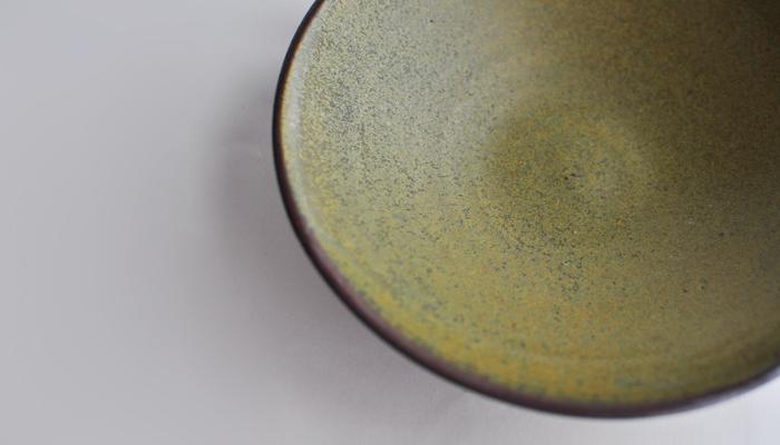 中村恵子の7寸鉢 緑03