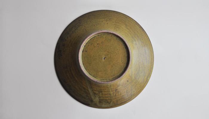 中村恵子の7寸鉢 緑06