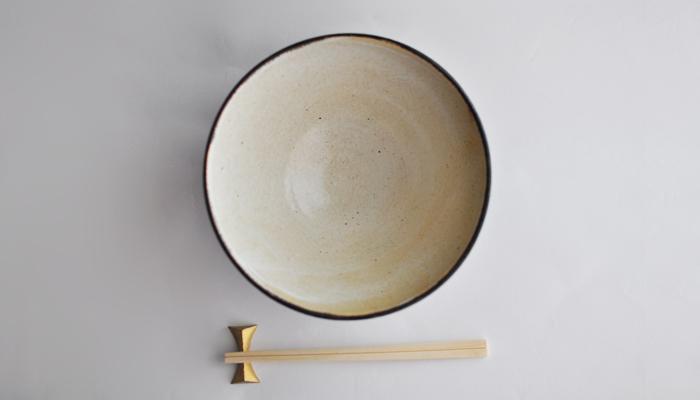 中村恵子の丼 黒×粉引03