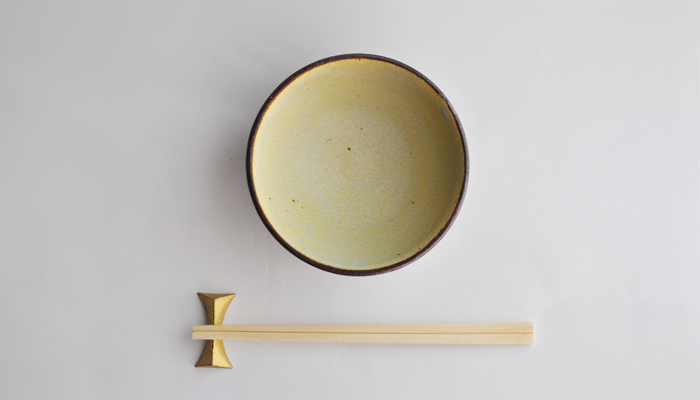 中村恵子の飯碗 深緑引 03
