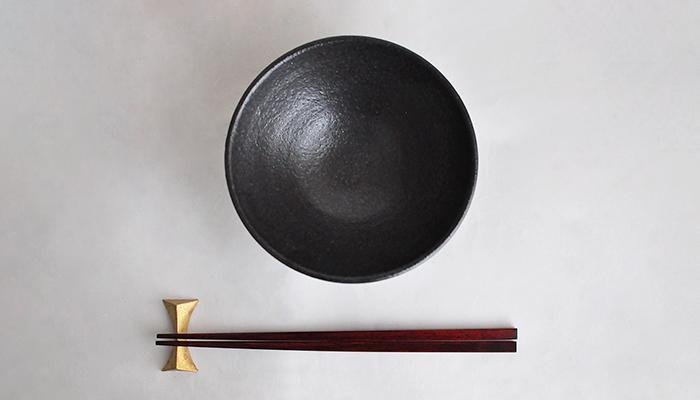 中村恵子の飯碗 大 黒 06