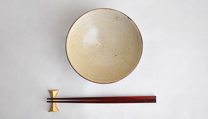中村恵子の飯碗 大 皹粉引 07