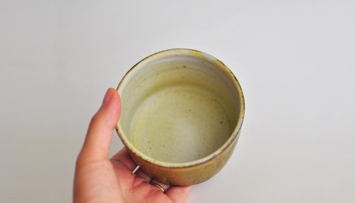 中村恵子 深緑 切っ立カップ03