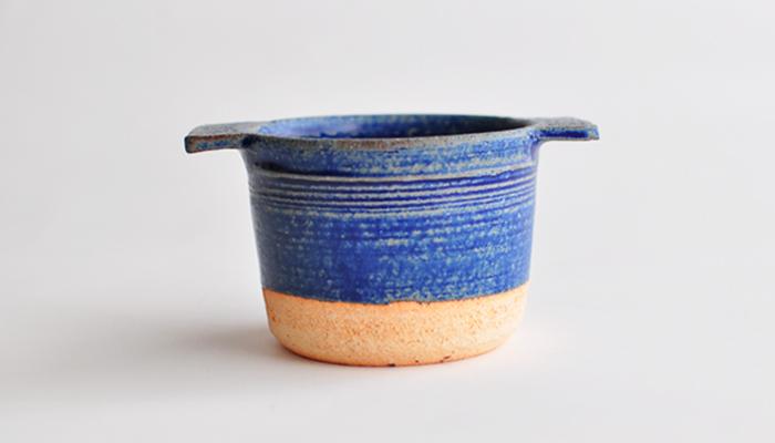 ココット 瑠璃青 やまばれ陶房