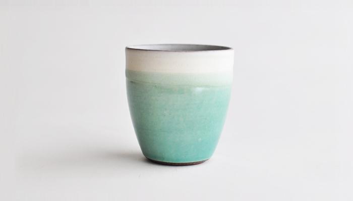 フリーカップ リーフエッジ やまばれ陶房